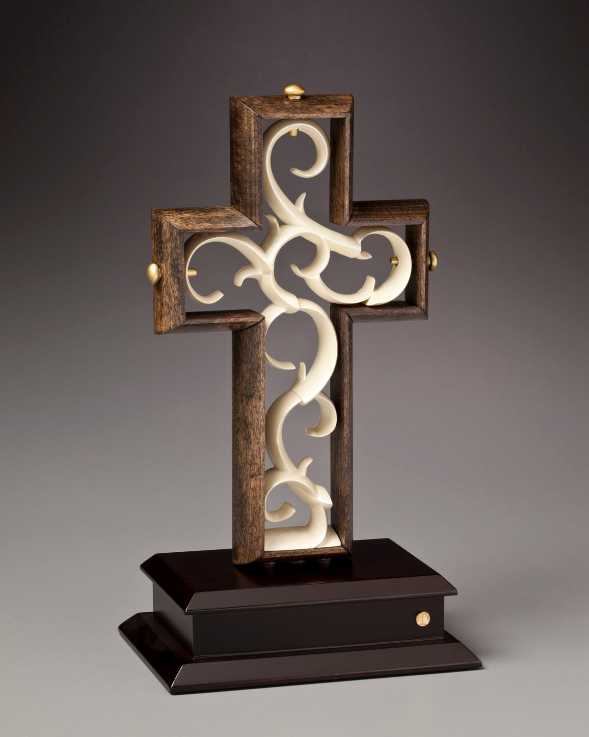 Color unity examples -  1 The Unity Cross Artisan Series Aged Black Umber Ivory Color